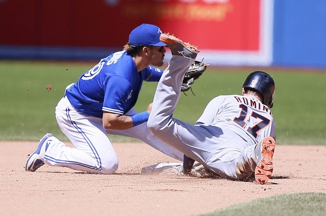 Toronto Blue Jays vs. Detroit Tigers - 7/10/16 MLB Pick, Odds, and Prediction