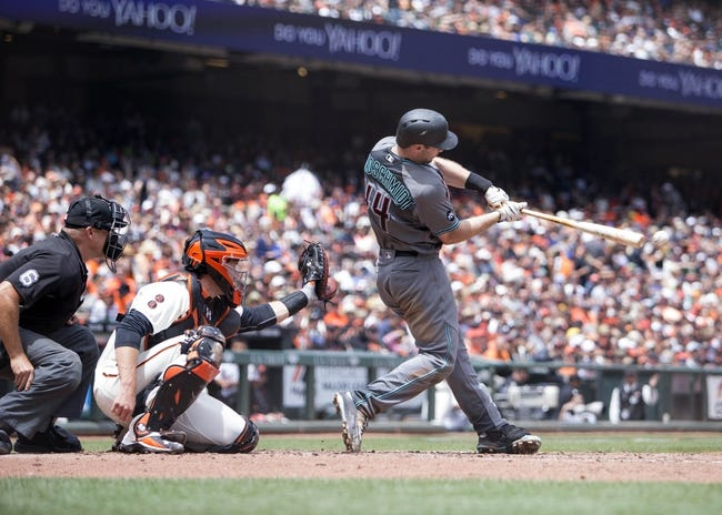 Diamondbacks at Giants - 7/10/16 MLB Pick, Odds, and Prediction