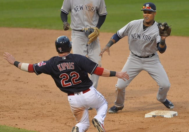 New York Yankees vs. Cleveland Indians - 8/5/16 MLB Pick, Odds, and Prediction
