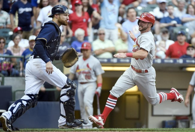 Brewers vs. Cardinals - 8/29/16 MLB Pick, Odds, and Prediction