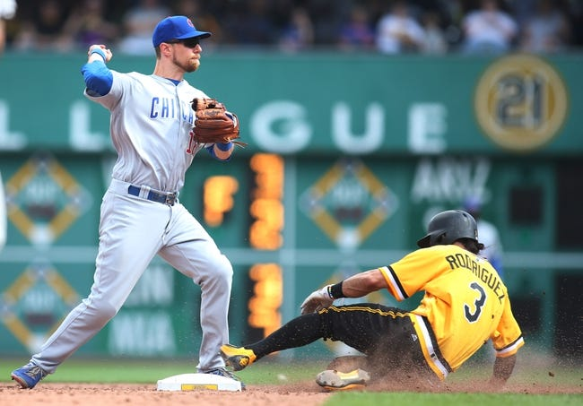 Cubs vs. Pirates - 8/29/16 MLB Pick, Odds, and Prediction