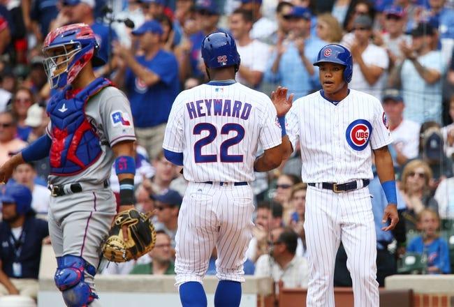 Rangers at Cubs - 7/16/16 MLB Pick, Odds, and Prediction