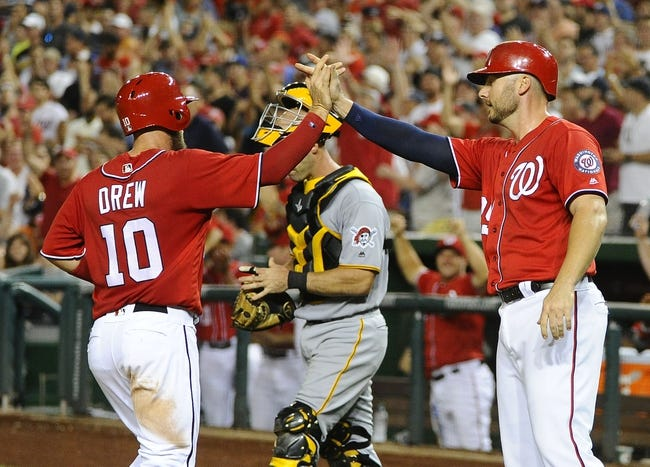 Washington Nationals vs. Pittsburgh Pirates - 7/17/16 MLB Pick, Odds, and Prediction