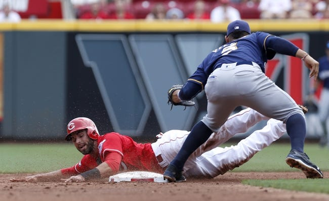 Reds vs. Brewers - 9/12/16 MLB Pick, Odds, and Prediction