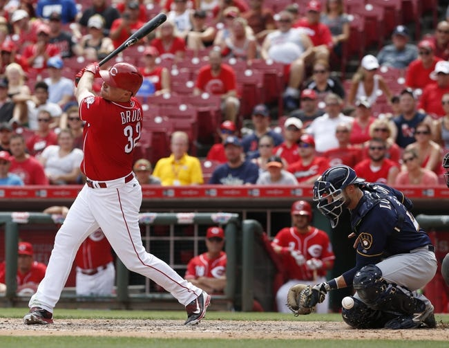 Milwaukee Brewers vs. Cincinnati Reds - 8/12/16 MLB Pick, Odds, and Prediction