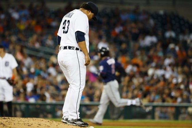 Detroit Tigers vs. Minnesota Twins - 7/20/16 MLB Pick, Odds, and Prediction