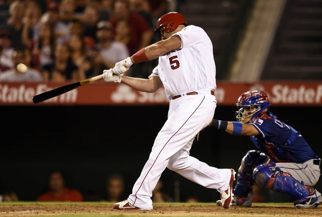 Angels vs. Rangers - 7/20/16 MLB Pick, Odds, and Prediction