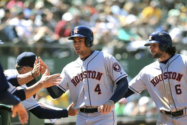 Houston Astros vs. Oakland Athletics - 8/29/16 MLB Pick, Odds, and Prediction