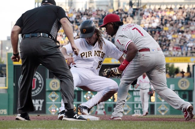 Pittsburgh Pirates vs. Philadelphia Phillies - 7/23/16 MLB Pick, Odds, and Prediction