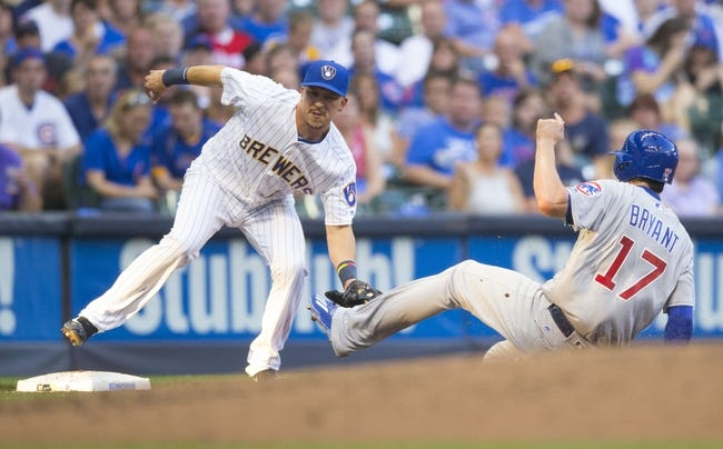 Chicago Cubs vs. Milwaukee Brewers - 8/16/16 MLB Pick, Odds, and Prediction