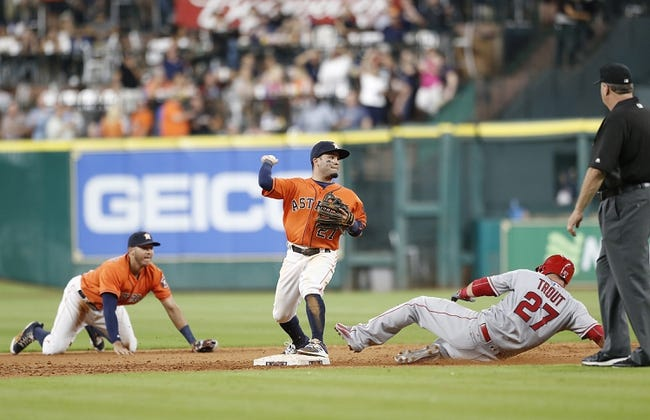 Houston Astros vs. Los Angeles Angels - 7/24/16 MLB Pick, Odds, and Prediction