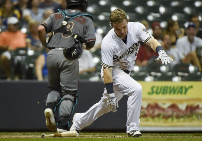 Diamondbacks vs. Brewers - 8/7/16 MLB Pick, Odds, and Prediction