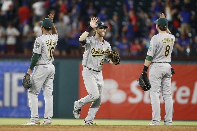Texas Rangers vs. Oakland Athletics - 7/27/16 MLB Pick, Odds, and Prediction