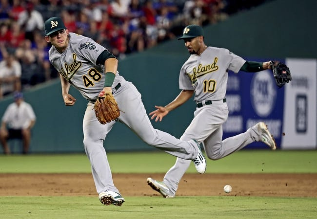 Texas Rangers vs. Oakland Athletics - 8/15/16 MLB Pick, Odds, and Prediction