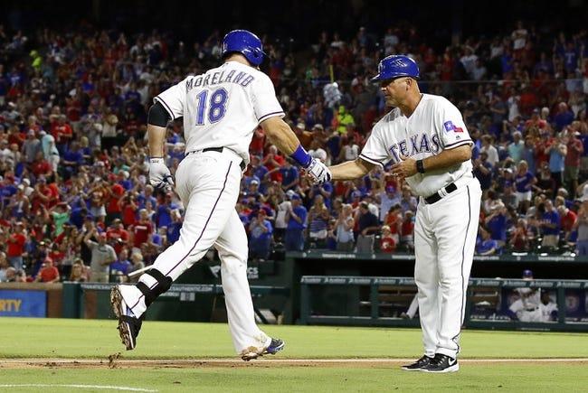 Rangers vs. Royals - 7/29/16 MLB Pick, Odds, and Prediction