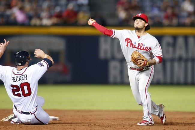 Atlanta Braves vs. Philadelphia Phillies - 7/29/16 MLB Pick, Odds, and Prediction