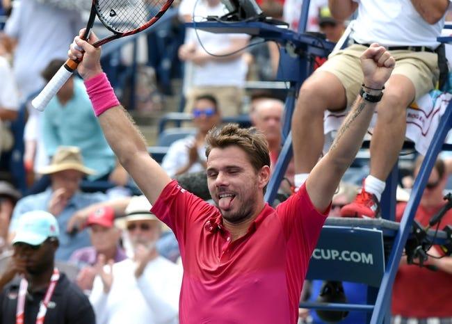 Stan Wawrinka vs. Kei Nishikori 2016 Rogers Cup Semifinals Pick, Odds, Prediction