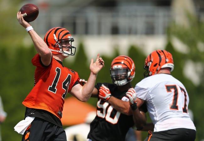 Cincinnati Bengals vs. Minnesota Vikings - 8/12/16 NFL Pick, Odds, and Prediction