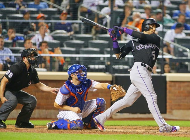New York Mets vs. Colorado Rockies - 7/30/16 MLB Pick, Odds, and Prediction