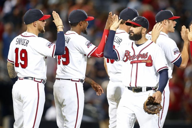 Atlanta Braves vs. Philadelphia Phillies - 7/31/16 MLB Pick, Odds, and Prediction