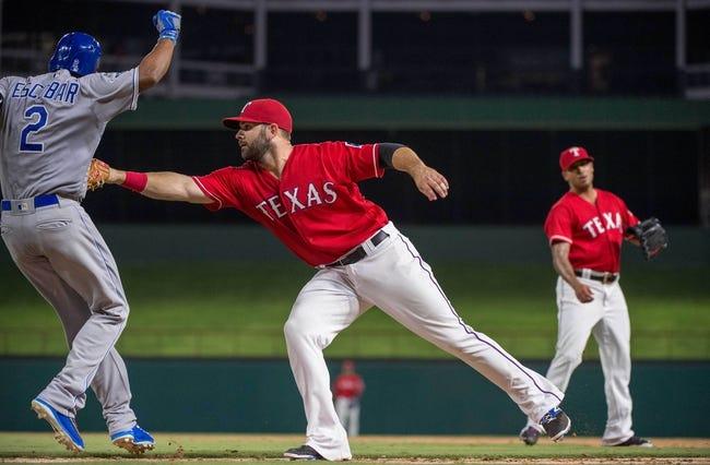 Rangers vs. Royals - 7/31/16 MLB Pick, Odds, and Prediction