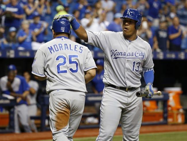 Tampa Bay Rays vs. Kansas City Royals - 8/2/16 MLB Pick, Odds, and Prediction