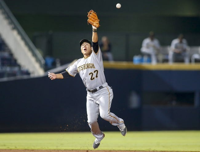 Atlanta Braves vs. Pittsburgh Pirates - 8/3/16 MLB Pick, Odds, and Prediction