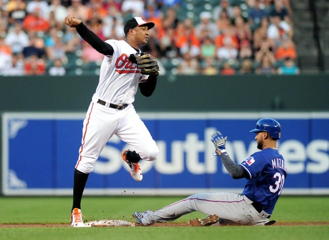 Baltimore Orioles vs. Texas Rangers - 8/4/16 MLB Pick, Odds, and Prediction