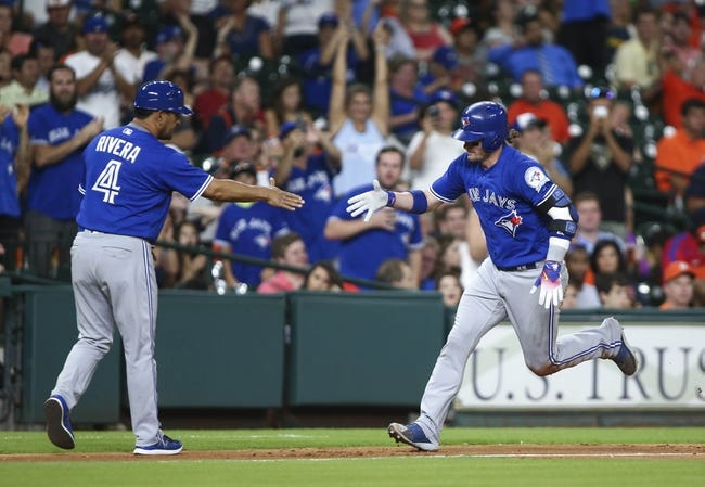 Astros vs. Blue Jays - 8/4/16 MLB Pick, Odds, and Prediction