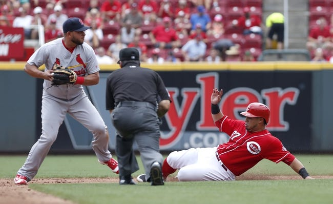 St. Louis Cardinals vs. Cincinnati Reds - 8/8/16 MLB Pick, Odds, and Prediction