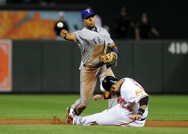 Baltimore Orioles vs. Texas Rangers - 7/17/17 MLB Pick, Odds, and Prediction