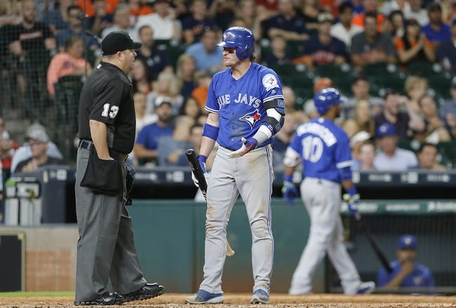 Blue Jays vs. Astros - 8/12/16 MLB Pick, Odds, and Prediction