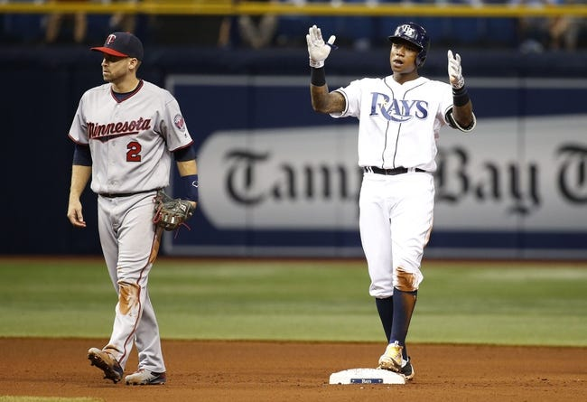 Tampa Bay Rays vs. Minnesota Twins - 8/6/16 MLB Pick, Odds, and Prediction
