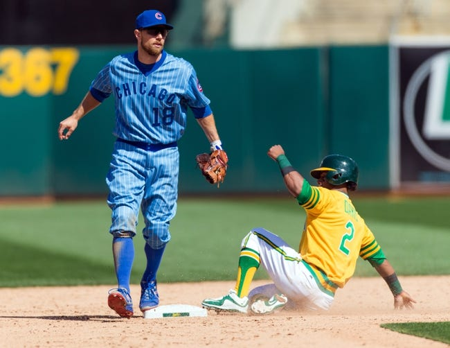 Oakland Athletics vs. Chicago Cubs - 8/7/16 MLB Pick, Odds, and Prediction