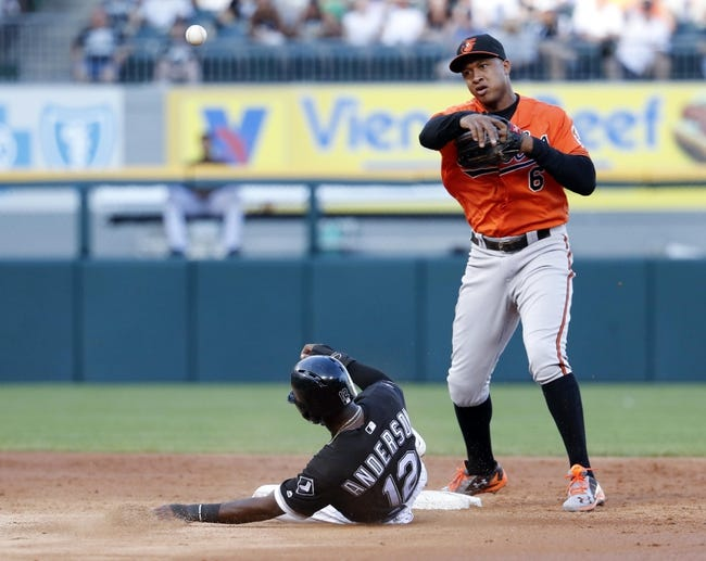Chicago White Sox vs. Baltimore Orioles - 8/7/16 MLB Pick, Odds, and Prediction