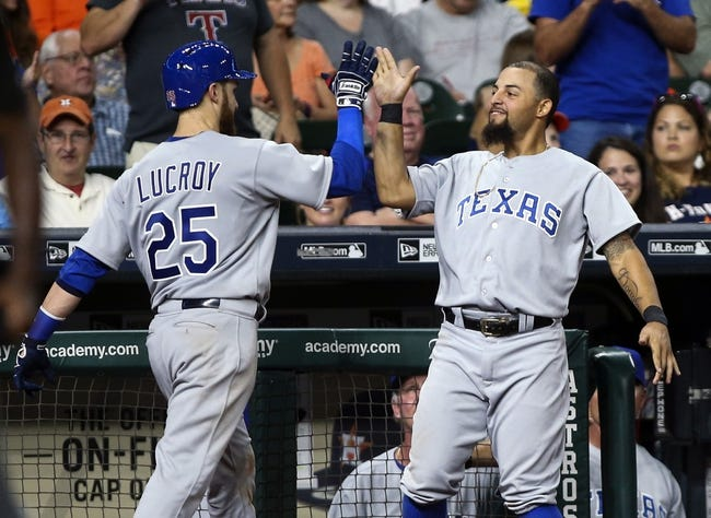 Texas Rangers vs. Houston Astros - 9/2/16 MLB Pick, Odds, and Prediction