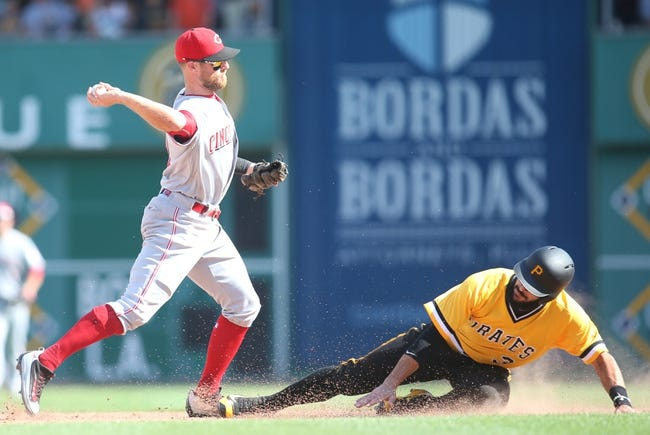 Pittsburgh Pirates vs. Cincinnati Reds - 9/10/16 MLB Pick, Odds, and Prediction
