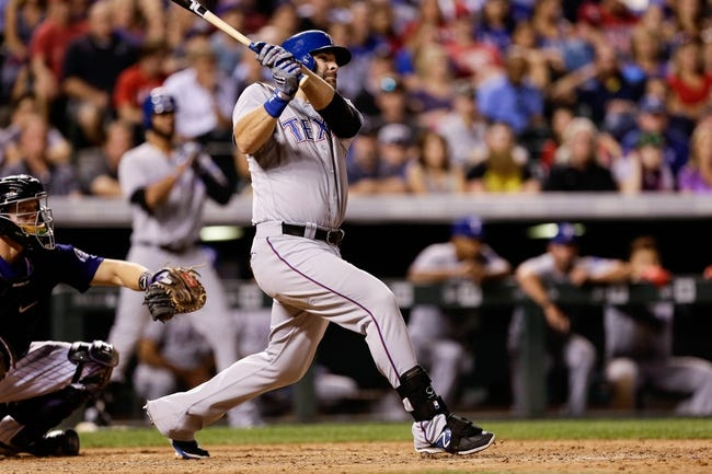 Texas Rangers vs. Colorado Rockies - 8/10/16 MLB Pick, Odds, and Prediction