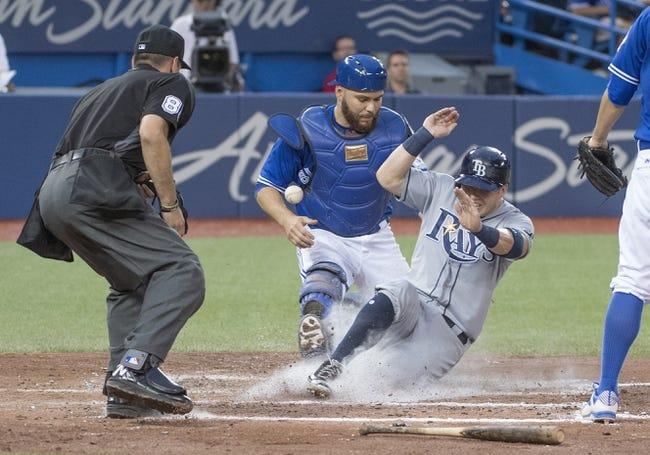 Toronto Blue Jays vs. Tampa Bay Rays - 8/10/16 MLB Pick, Odds, and Prediction
