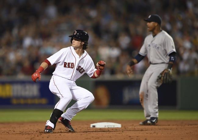 Boston Red Sox vs. New York Yankees - 8/10/16 MLB Pick, Odds, and Prediction
