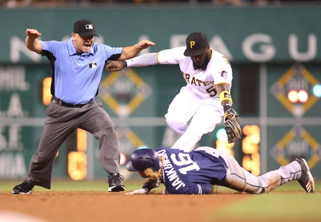 Pittsburgh Pirates vs. San Diego Padres - 8/11/16 MLB Pick, Odds, and Prediction