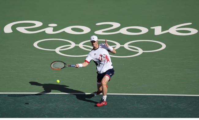 Andy Murray vs. Steve Johnson 2016 Rio Summer Olympics Quarterfinal Pick, Odds, Prediction