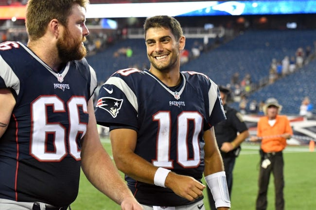 New England Patriots vs. Chicago Bears - 8/18/16 NFL Pick, Odds, and Prediction