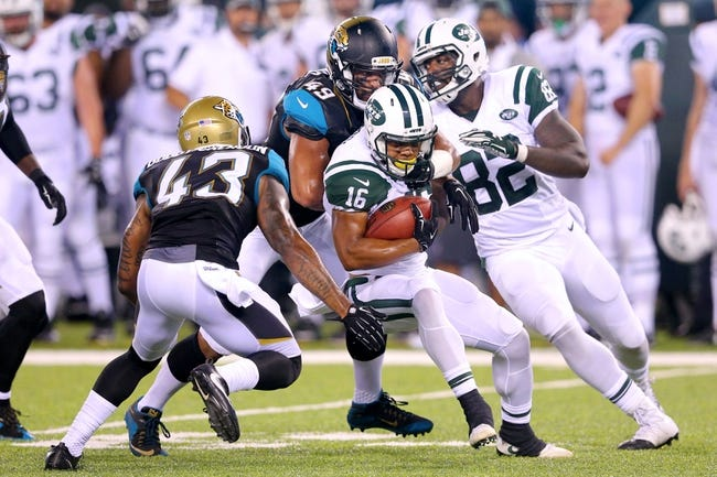 New York Jets vs. Jacksonville Jaguars - 10/1/17 NFL Pick, Odds, and Prediction