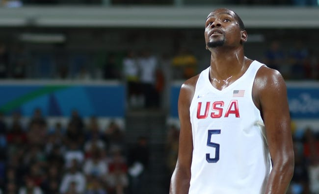 United States vs. France - 8/14/16 Men's Basketball 2016 Olympic Games Pick, Odds, and Prediction