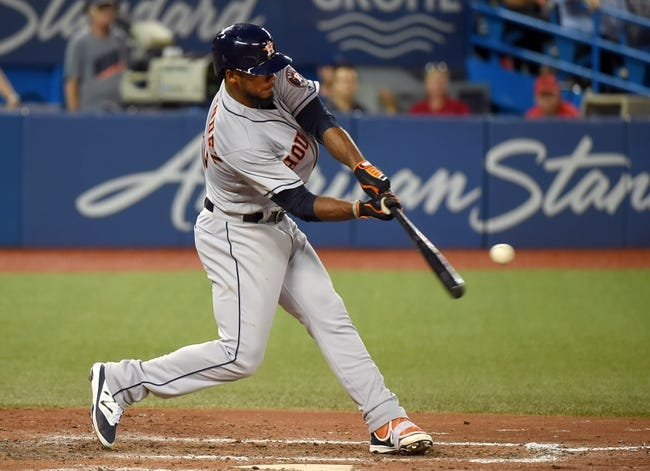 Toronto Blue Jays vs. Houston Astros - 8/13/16 MLB Pick, Odds, and Prediction
