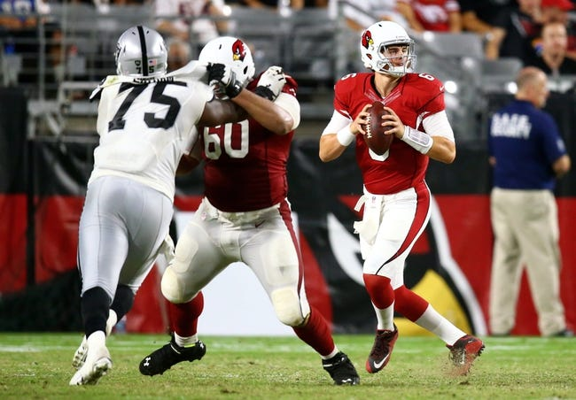 Arizona Cardinals vs. Oakland Raiders - 8/12/17 NFL Pick, Odds, and Prediction