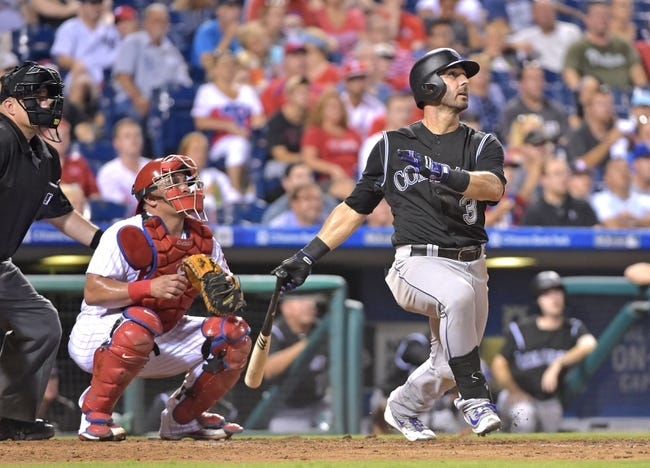 Philadelphia Phillies vs. Colorado Rockies - 8/14/16 MLB Pick, Odds, and Prediction