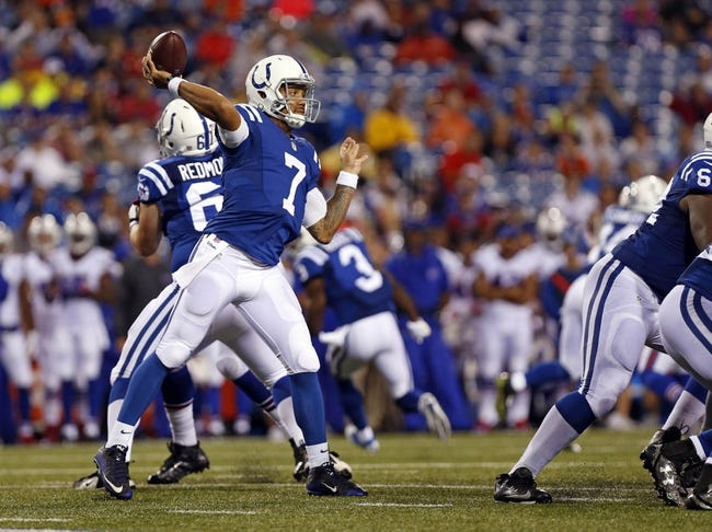 Baltimore Ravens at Indianapolis Colts - 8/20/16 NFL Pick, Odds, and Prediction