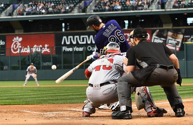Rockies vs. Nationals - 8/16/16 MLB Pick, Odds, and Prediction